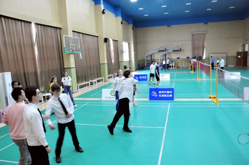 羽球课 Badminton lesson