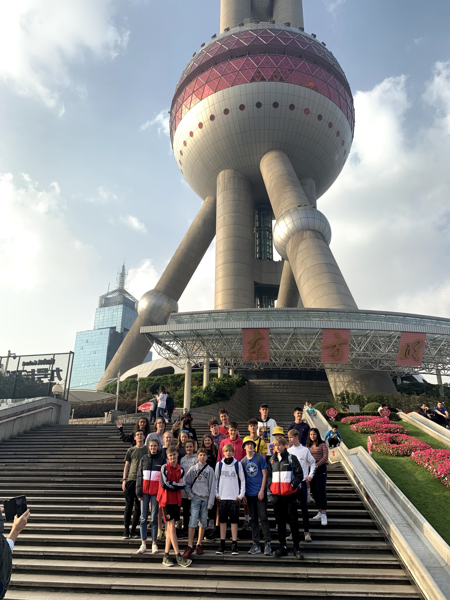 The Oriental Pearl tower, Shanghai