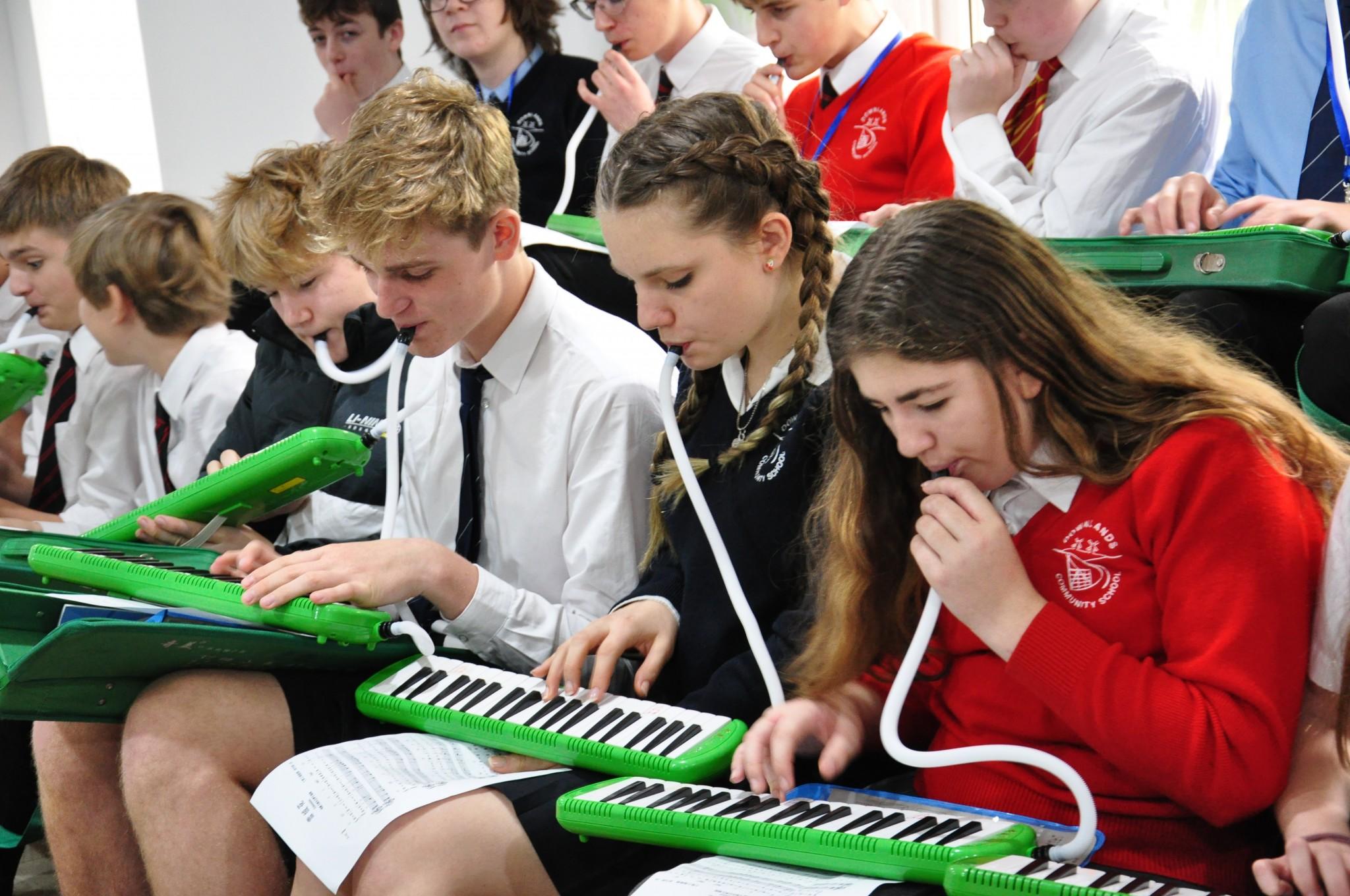 音乐课 Music lesson